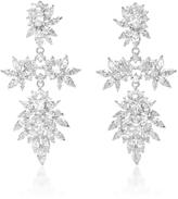 Fallon Cluster Marquis Earrings