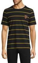 The Kooples Desert Leopard Stripe Shirt