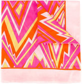 M Missoni zigzag pattern scarf - women - Cotton - One Size