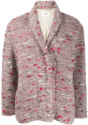 Etoile Isabel Marant Tweed Cocoon Jacket