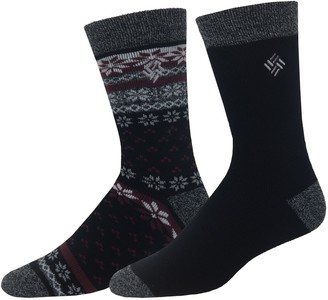 Columbia Men's Thermal Crew Socks