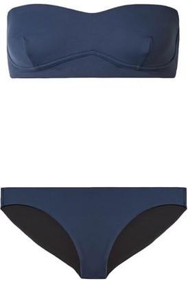 Skin Lace-up Bandeau Bikini