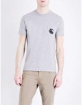 Cp Company Logo-print Cotton-jersey T-shirt