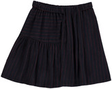 Bellerose Alibi Stripe Pleated Skirt