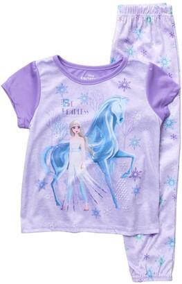 AME Frozen II Elsa T-Shirt & Pants Pajama Set