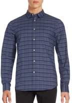 John Varvatos Printed Cotton-Blend Shirt