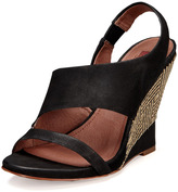 7 For All Mankind Gazelle Wedge Sandal