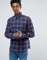 Barbour Shirt In Seth Check In Tailored Slim Fit