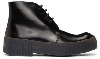 Acne Studios Black Chukka Desert Boots