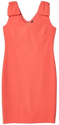 Tahari ASL Knit Day Dress (Porcelain Rose) Women's Dress