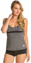TYR USA Swimming VNeck Open Back Tankini Swimsuit - 8126193