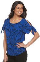 Apt. 9 Women's Print Crepe Top