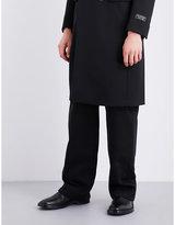 Balenciaga Dropped-crotch cotton-twill trousers