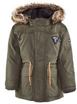 Timberland Kids Khaki Parka Coat with Detachable Hood