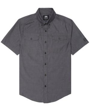 Ecko Unlimited Unltd Men's Branded Chambray Woven Shirt