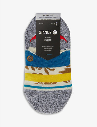 Stance Petal Power invisible cotton-blend socks