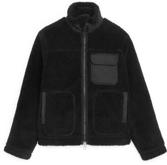 Arket Wool Blend Pile Jacket