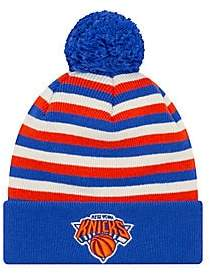 New Era Men's EK Cashmere New York Knicks Striped Knit Beanie