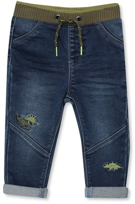 M&Co Dinosaur embroidered jeans (9mths-5yrs)