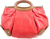 Red Leather Satchel Shopstyle