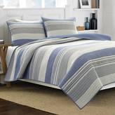 Nautica Mondrian Blue Full/Queen Quilt