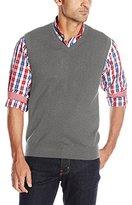 Izod Men's Fine Gauge V-Neck Sweater Vest