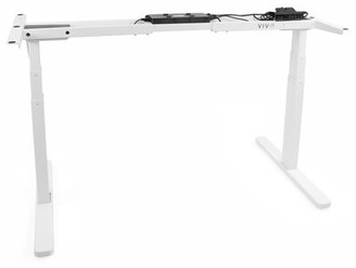 Vivo White Electric Stand Up Desk Frame Motor Standing Height Adjustable Legs