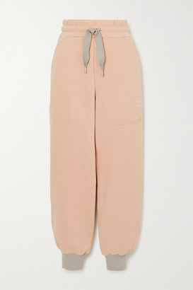 adidas by Stella McCartney Cotton-blend Jersey Track Pants - Pink