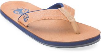 Hari x Nokona Men's Leather Thong Sandals, Honey
