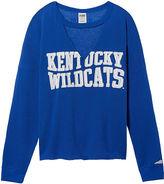 PINK University Of Kentucky Choker Cropped Varsity Crew
