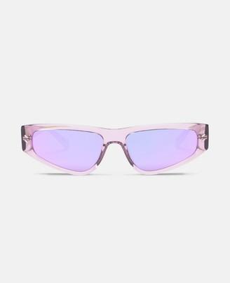 Stella McCartney lilac cat-eye sunglasses