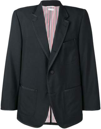 Thom Browne oversized tux school uniform jacket