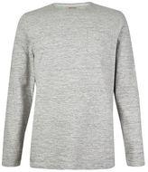 Burton Mens Common People Light Grey Long Sleeve Dye T-Shirt*