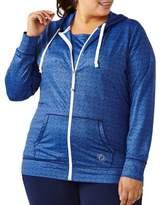 Activezone Plus Zippered Activewear Hoodie