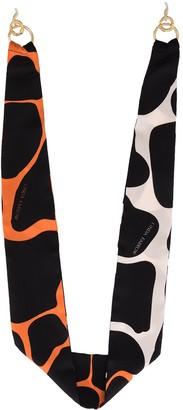 Linda Farrow Animal Print Sunglasses Strap