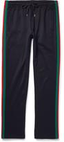 Gucci Stripe-Trimmed Jersey Sweatpants