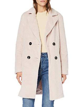 New Look Women's Adele Eyelash Coat S,(Size:)