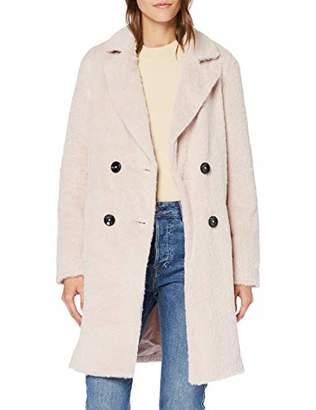 New Look Women's Adele Eyelash Coat,(Size:)