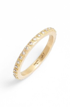 Armenta Sueno Champagne Diamond Band Ring