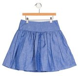 Milly Minis Girls' Checkered Flare Skirt w/ Tags