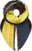 Fendi Kefiah silk-blend scarf