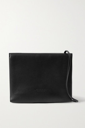 Bottega Veneta Trio Leather Shoulder Bag - Black