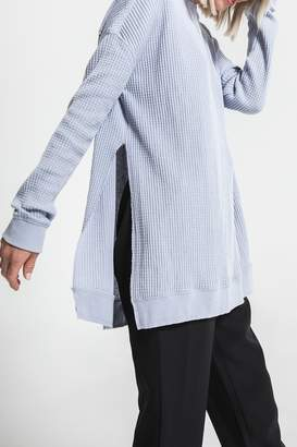 Others Follow Periwinkle Long Sleeve Thermal Top
