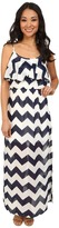 Gabriella Rocha Deon Chevron Maxi Dress