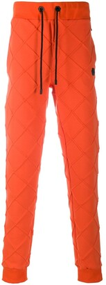 Philipp Plein Diamond Quilted Track Trousers