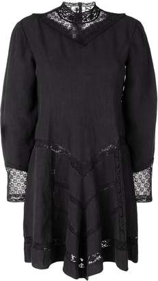 Isabel Marant lace panel short dress