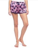 Juicy Couture Forever Palms Silk And Lace Short