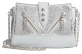 Kenzo Mini Kalifornia Metallic Leather Crossbody Bag - Metallic