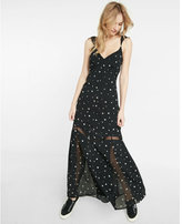 Express star maxi dress