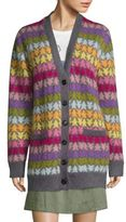 Marc Jacobs Star Oversized Mohair Cardigan